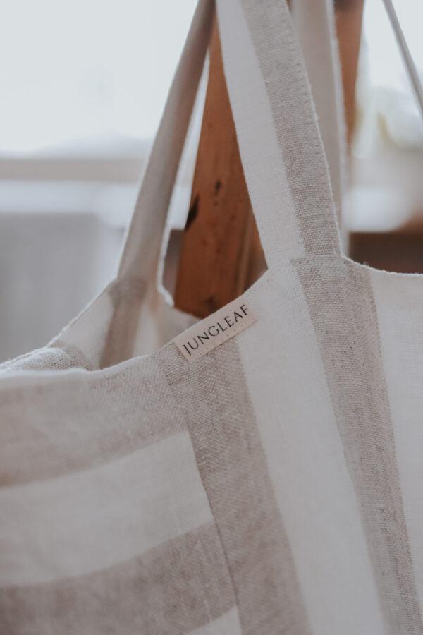 Linane kott valge