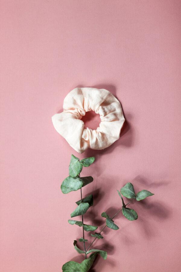 Scrunchie M roosa