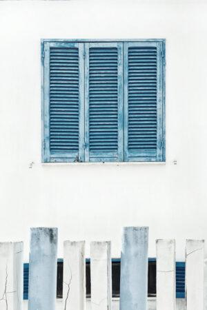 Sinine aken