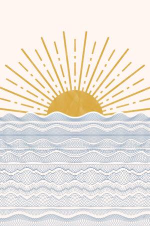 Abstraktne päikeseloojang